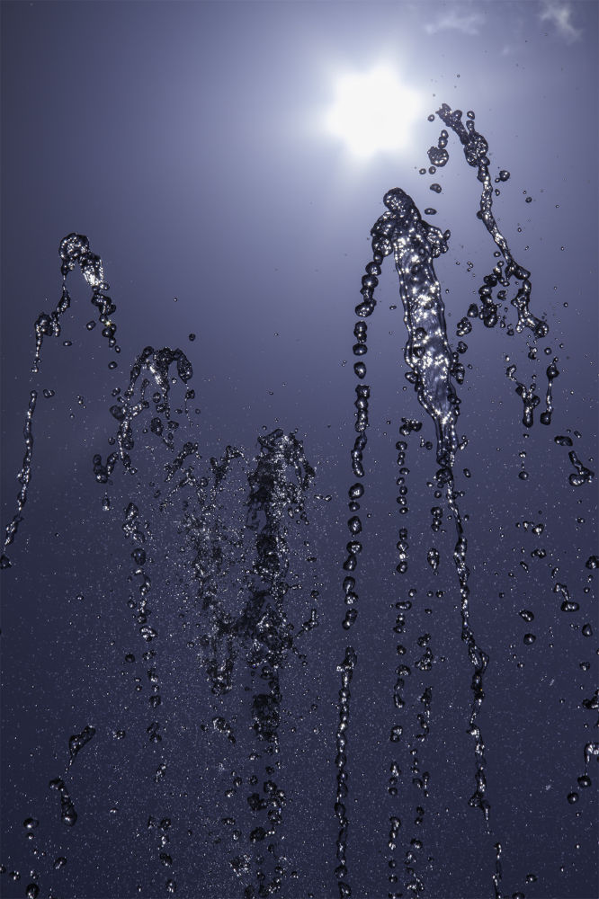 dancing water by AhMeD  A.SaLaM