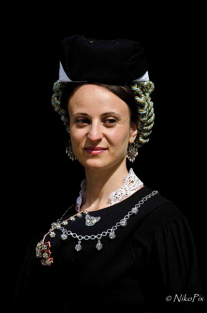 Photo in Portrait #scanno #abruzzo #italy #female traditional dress