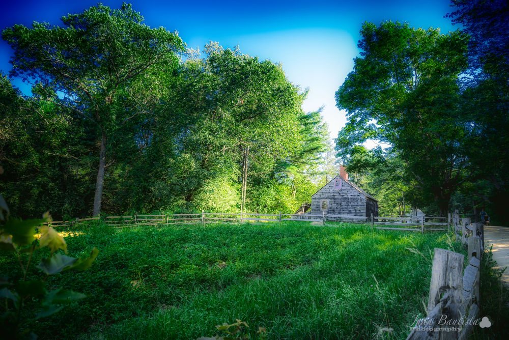 Old-house by Juan Bautista