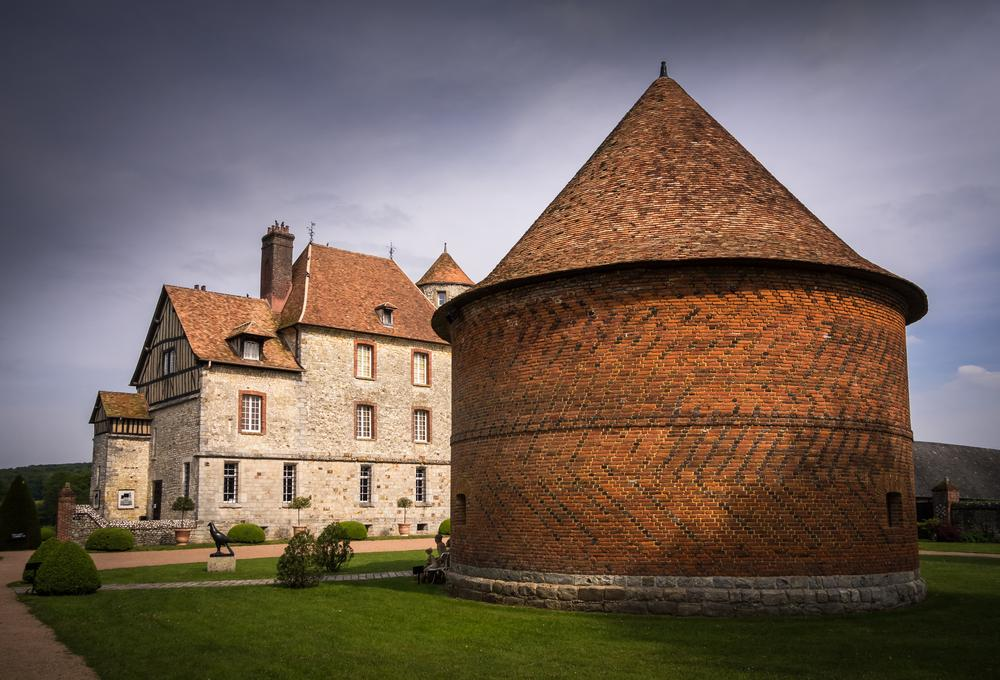 Photo in Architecture #france #normandy #raw #chateau #normandie #seine-maritime #castle #lightroom #lr4 #sony #sony dsc-rx100