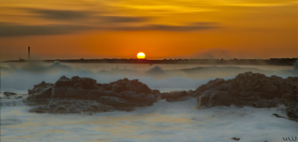 Sunset Playa Blanca Lanzarote by Paul Redmond