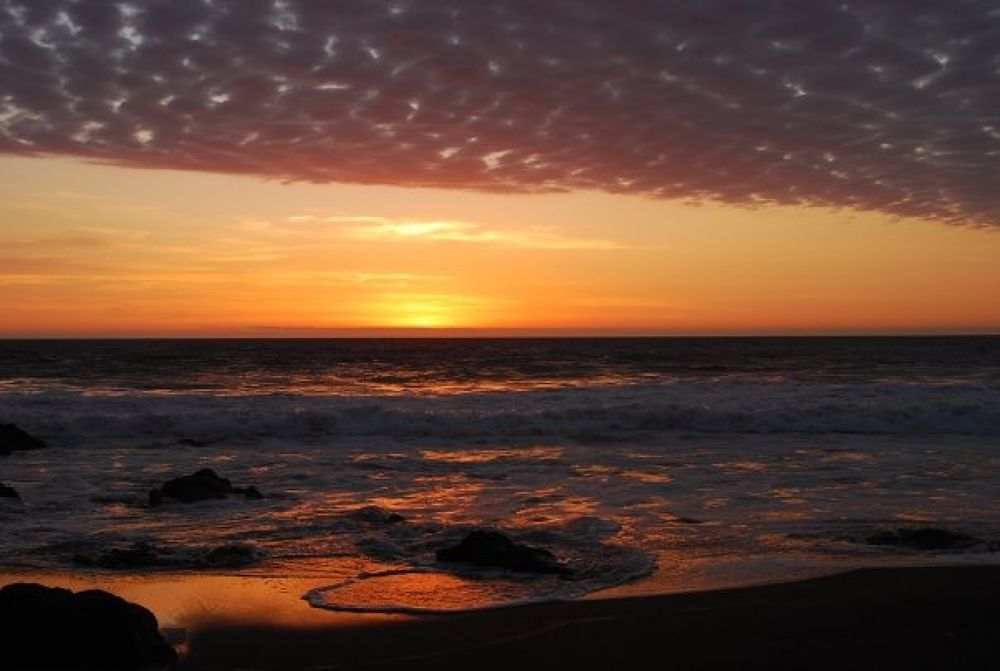 Sunset .Arica, Chile #ypa2013  by Greco