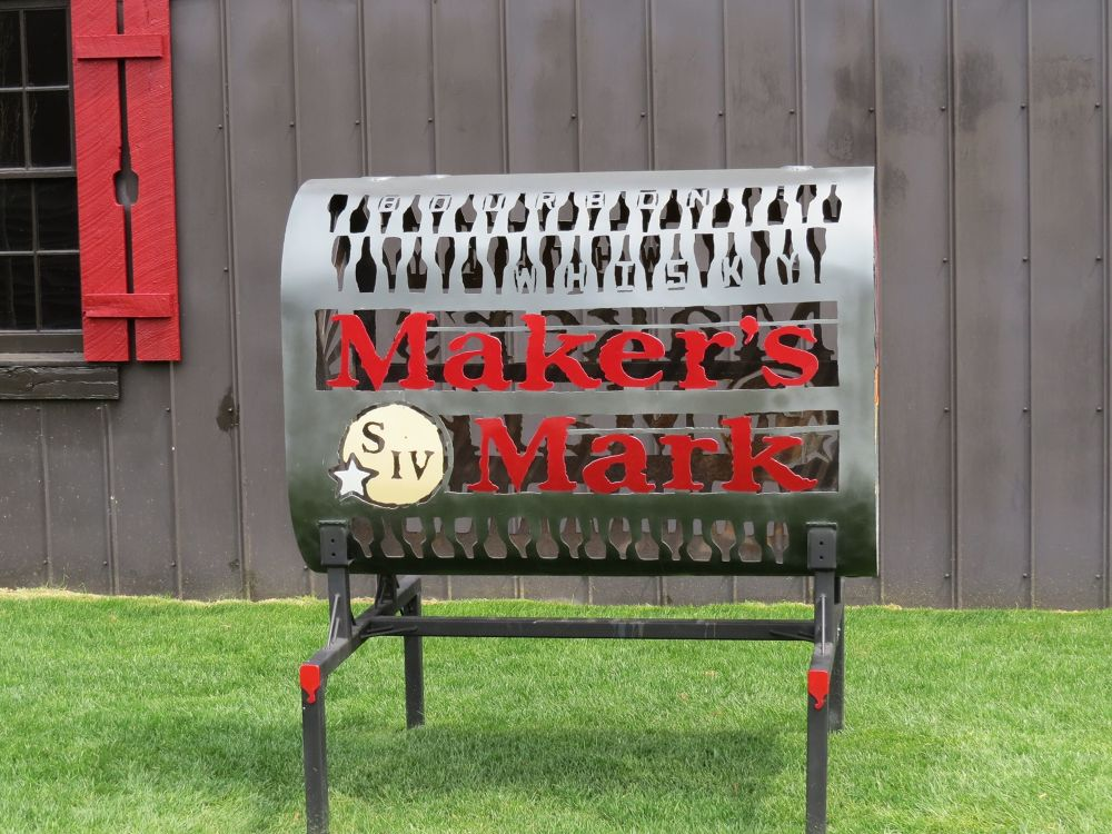 Makers Mark Metal Art by fischerr4