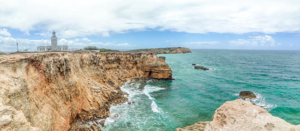 Photo in Landscape #cabo rojo #puerto rico #landscape #lighthouse #faro #los morillos #sea #ocean
