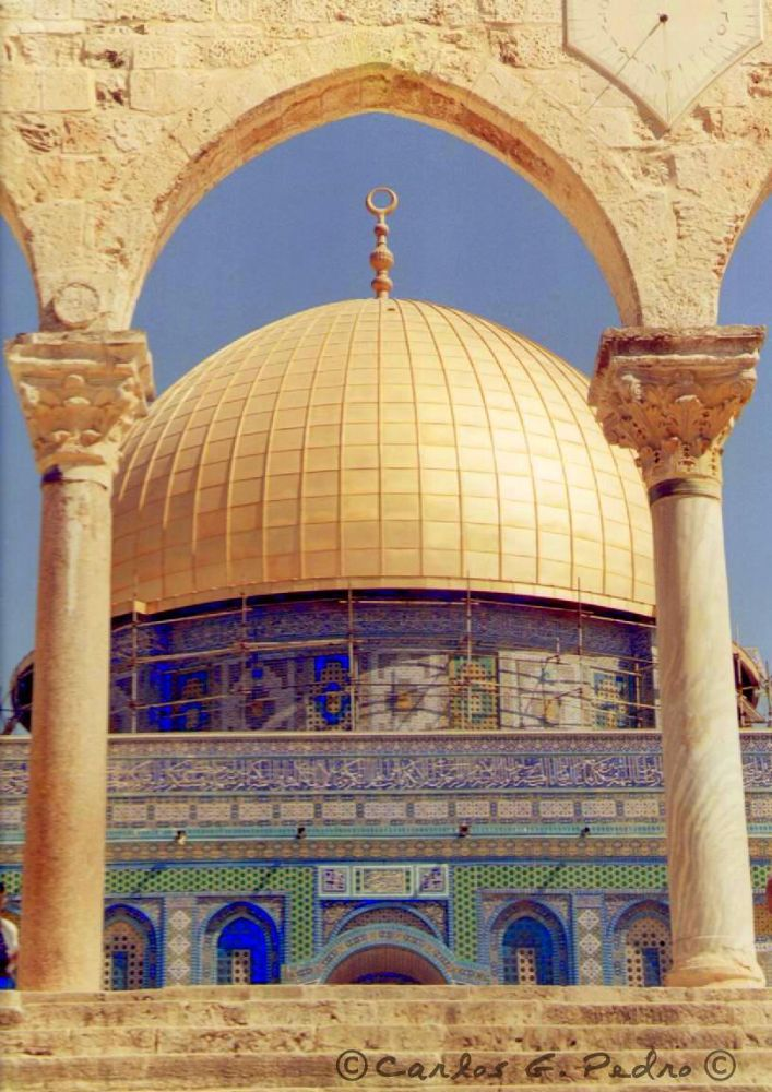 Dome of the Rock by Carlos Gonçalves Pedro