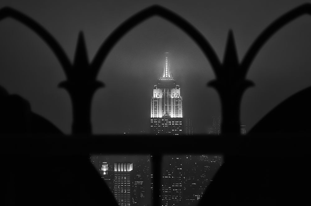 Empire State Building BW by James Williams