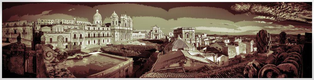 Noto  Panoramica by Fotoabbate