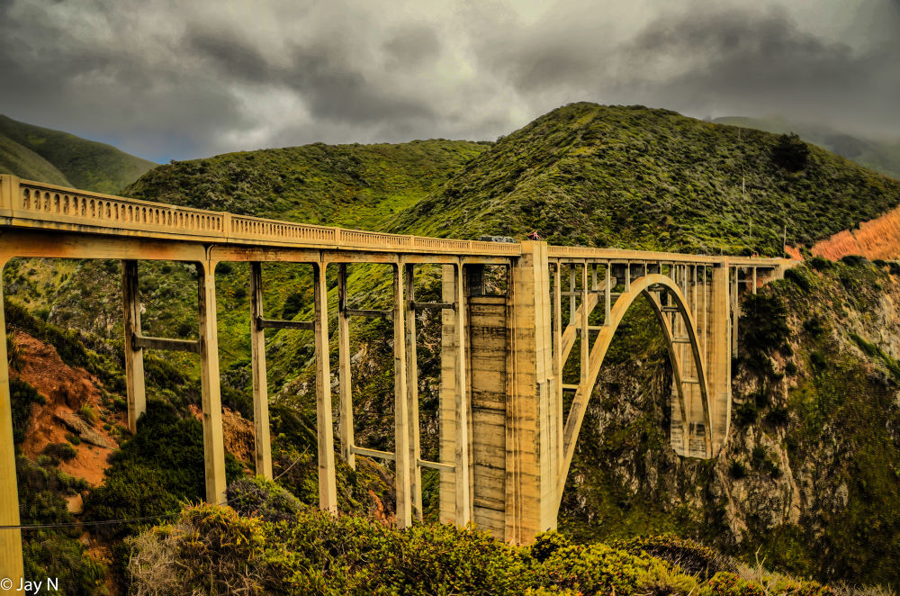 Bixby Bridge by Jayasimha Nuggehalli