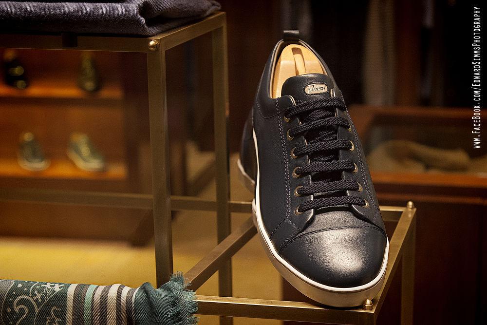 tennis shoe by Edward Simms
