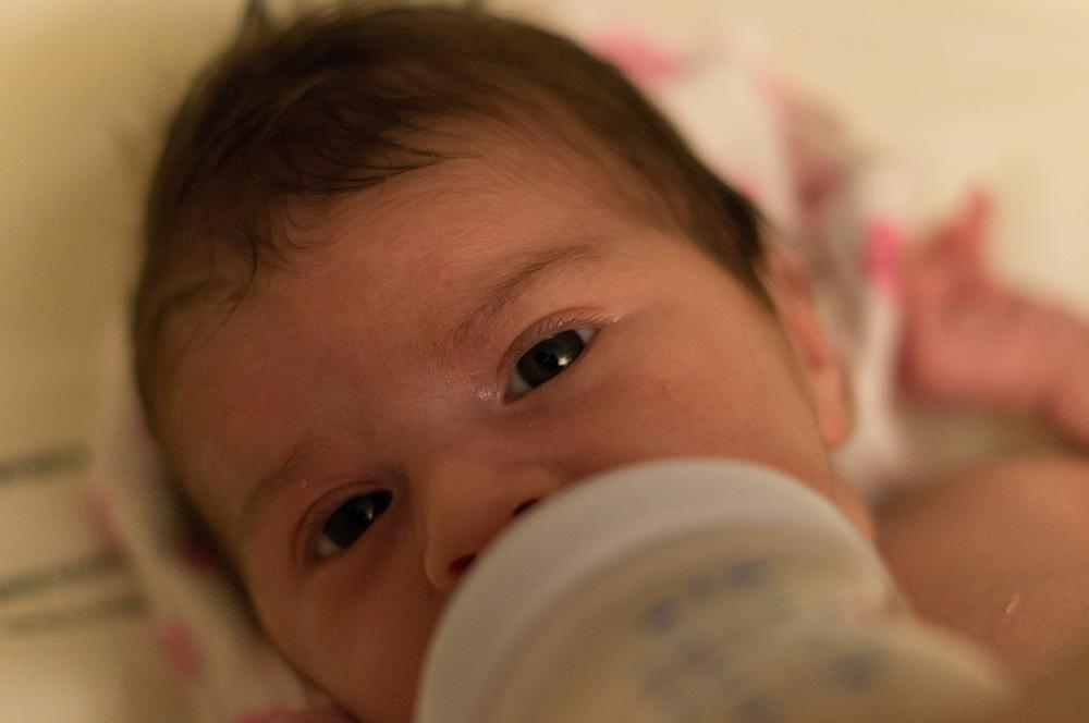 Photo in People #baby #feeding #bottle
