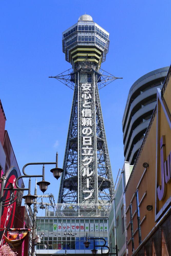 Japan 2012; Tsūtenkaku  通天閣 Osaka by Perry Haines Photography