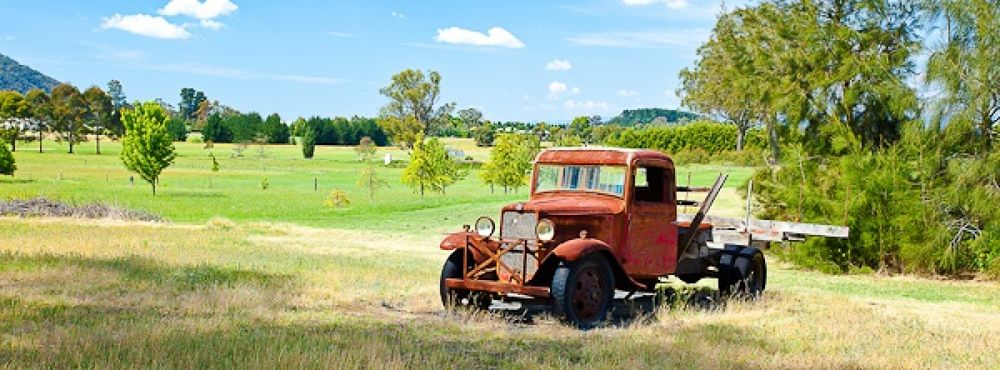 Little Red Truck by Harry Karavias