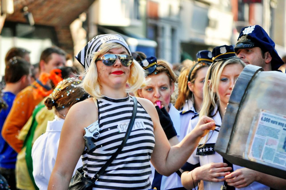 carnaval Ninove Belgium  by Pozofolio