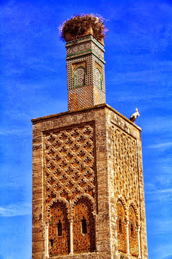 Site archéologique Challa Rabat Maroc  by Hassane Monkachi