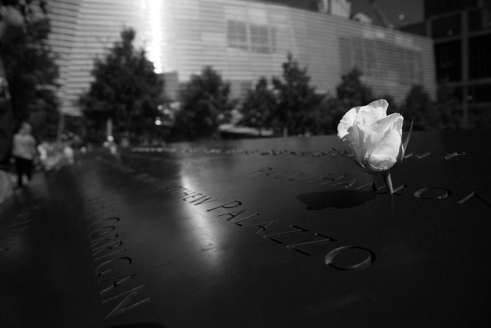 9/11 memorial by Tobias Riedl