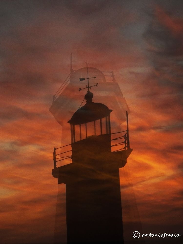 Flamed lighthouse ... by Antonio F. Maia