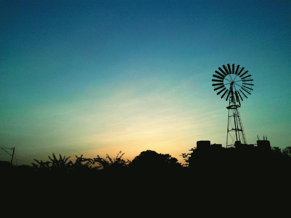 The Windmill by Surya Teja Kollipara