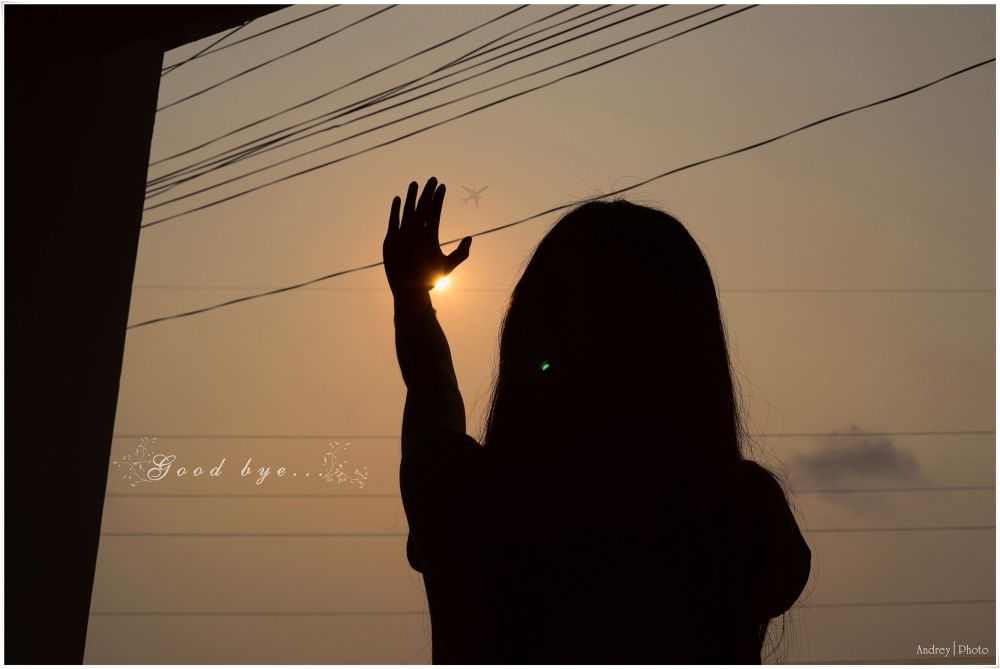 Good bye my love...! by Andrey Photography
