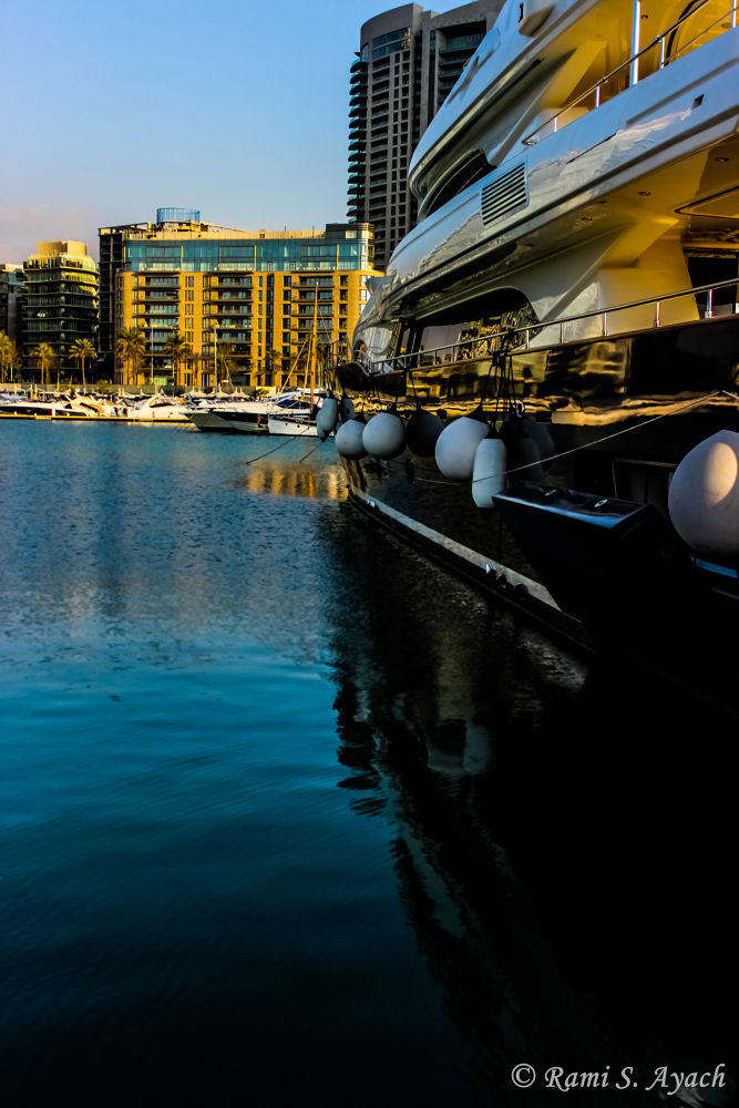 Take A Break when you Land Your Yacht in Beirut :) by Rami Ayach