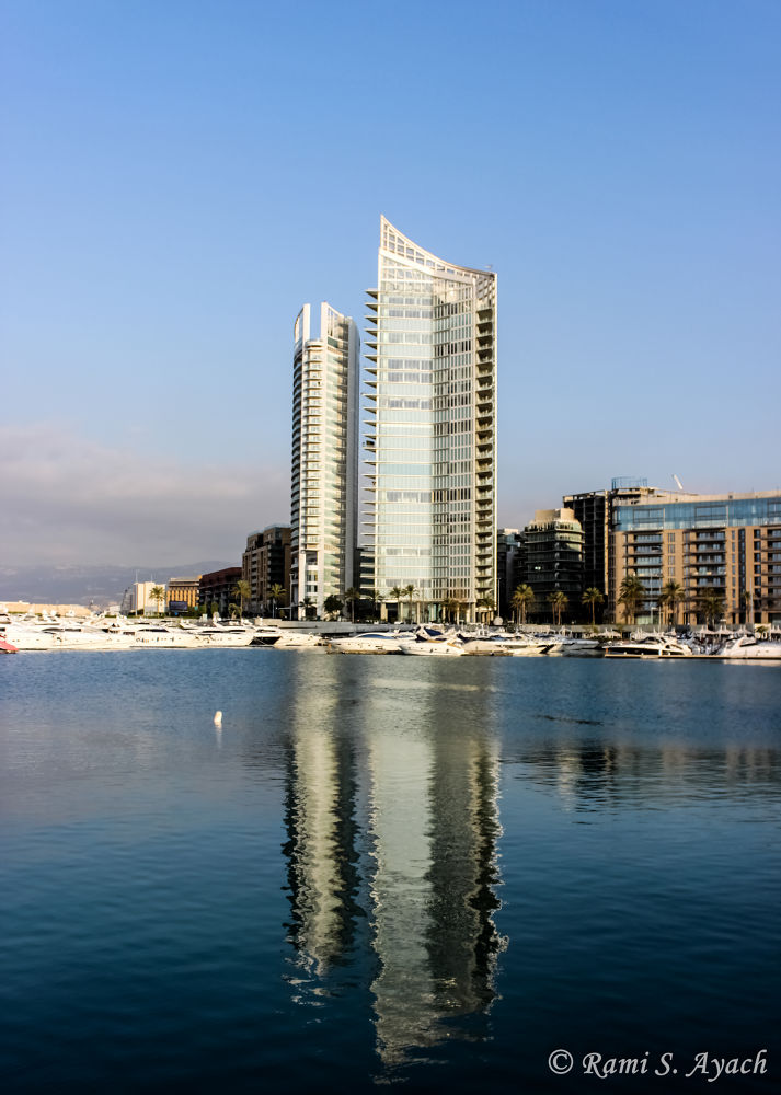 Marina Tower  by Rami Ayach