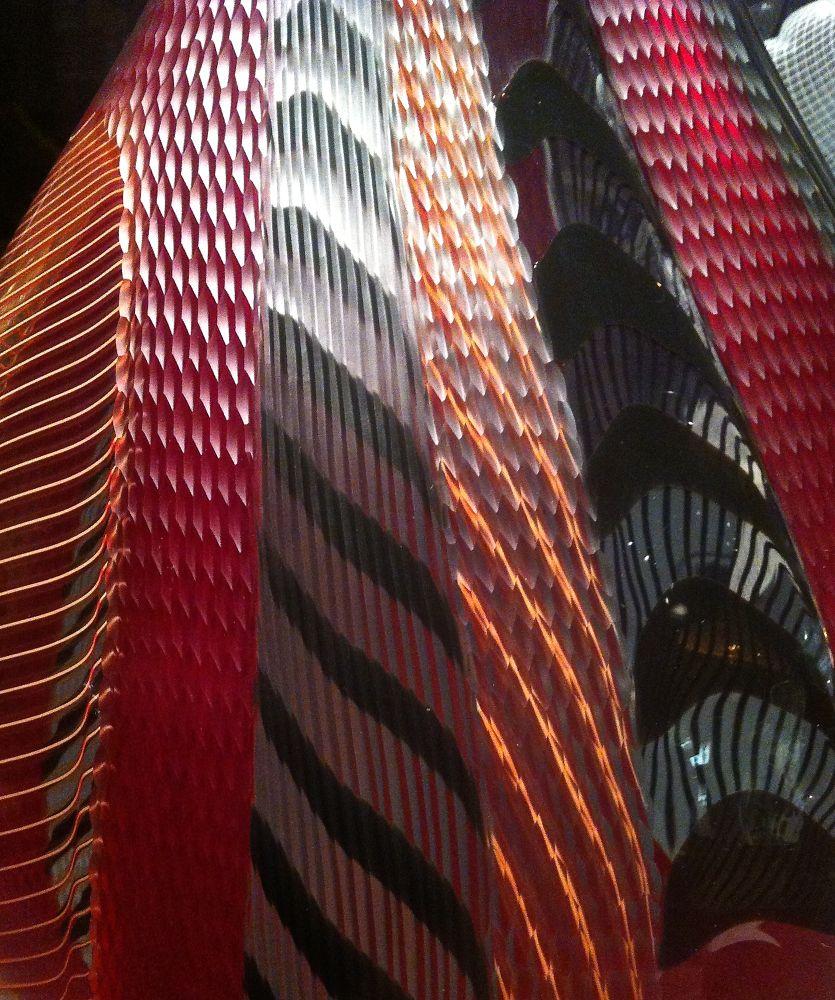 More glass art at V&A by Chris Poupazis