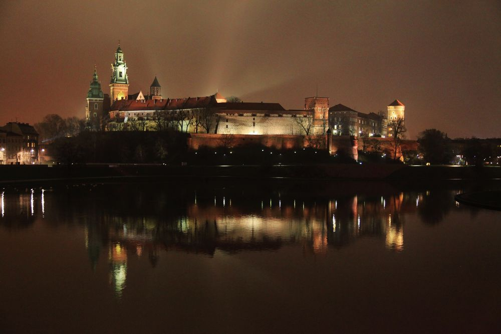 Reflections of The Wawel by Ben Soden