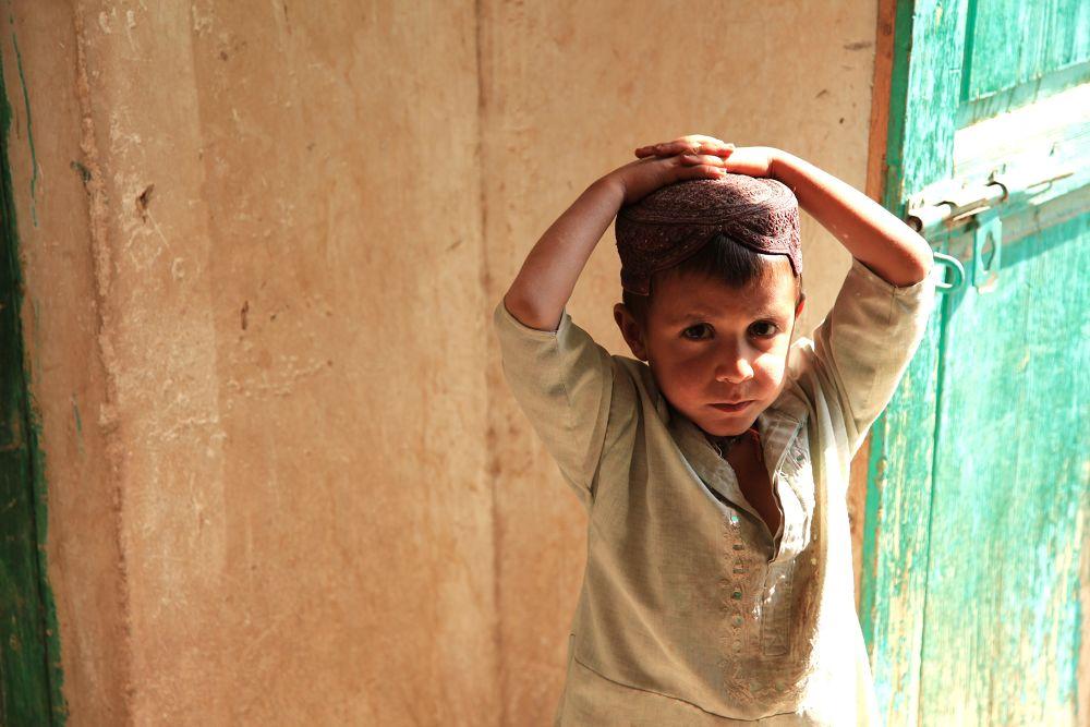 Boy from Gereshk (2) by Ben Soden