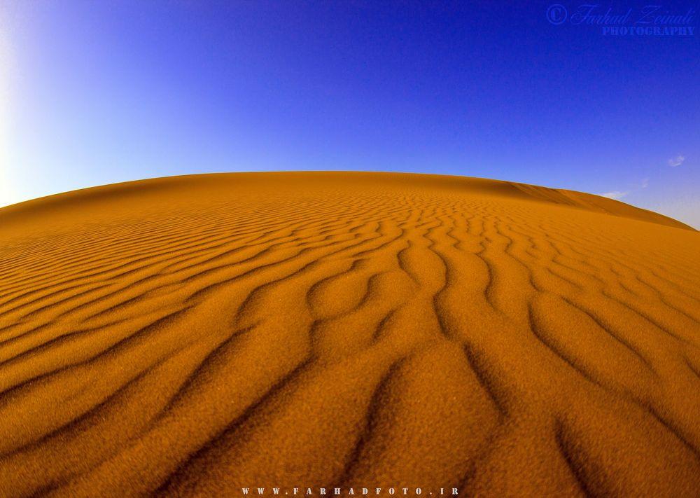 Maranjab Desert by Farhad Ze