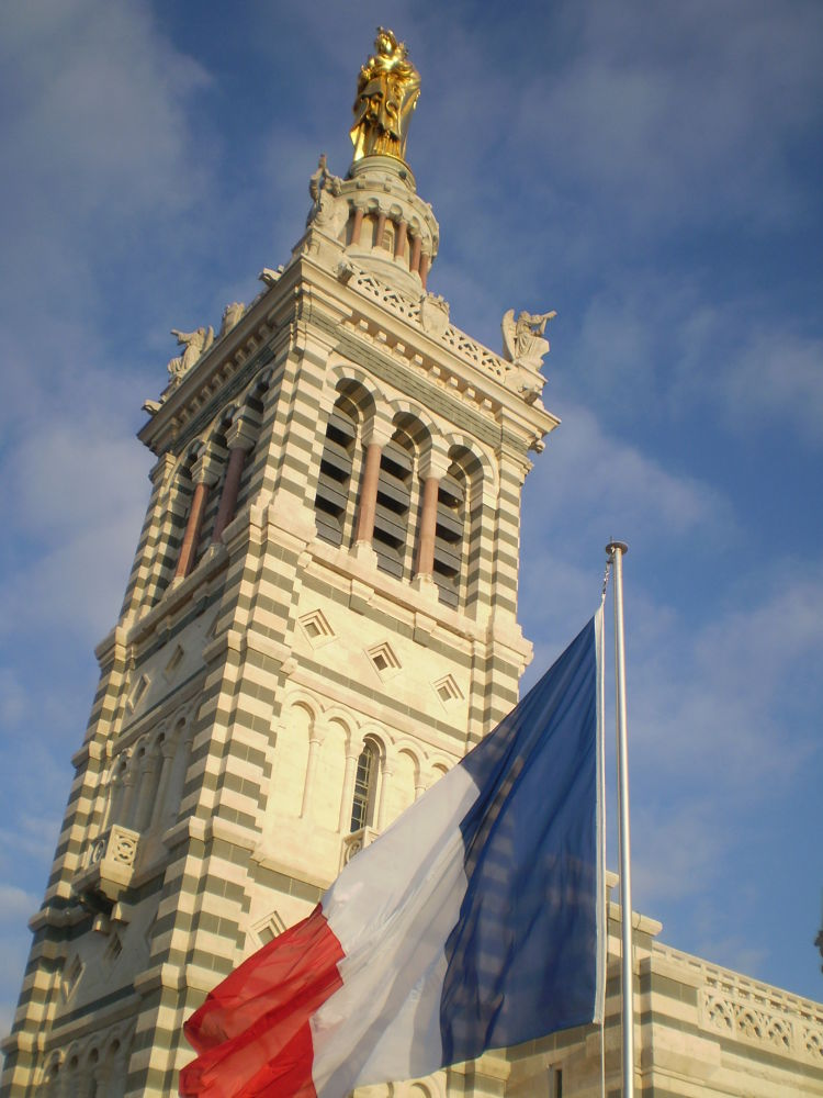 L'eglise Notre Dame de la garde. Marseille by Daniela B. Buda
