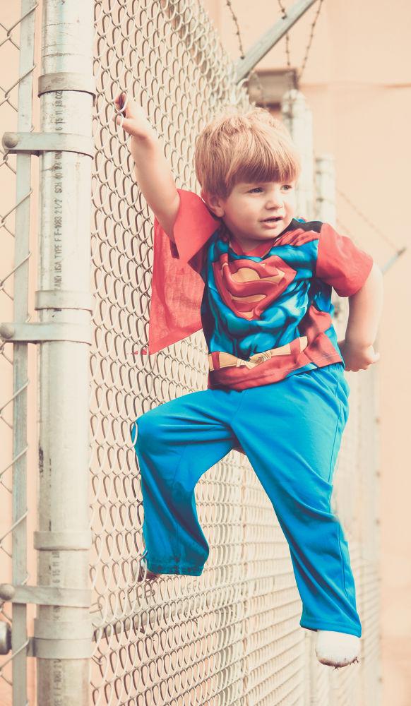 Super Man by Christal Gavin