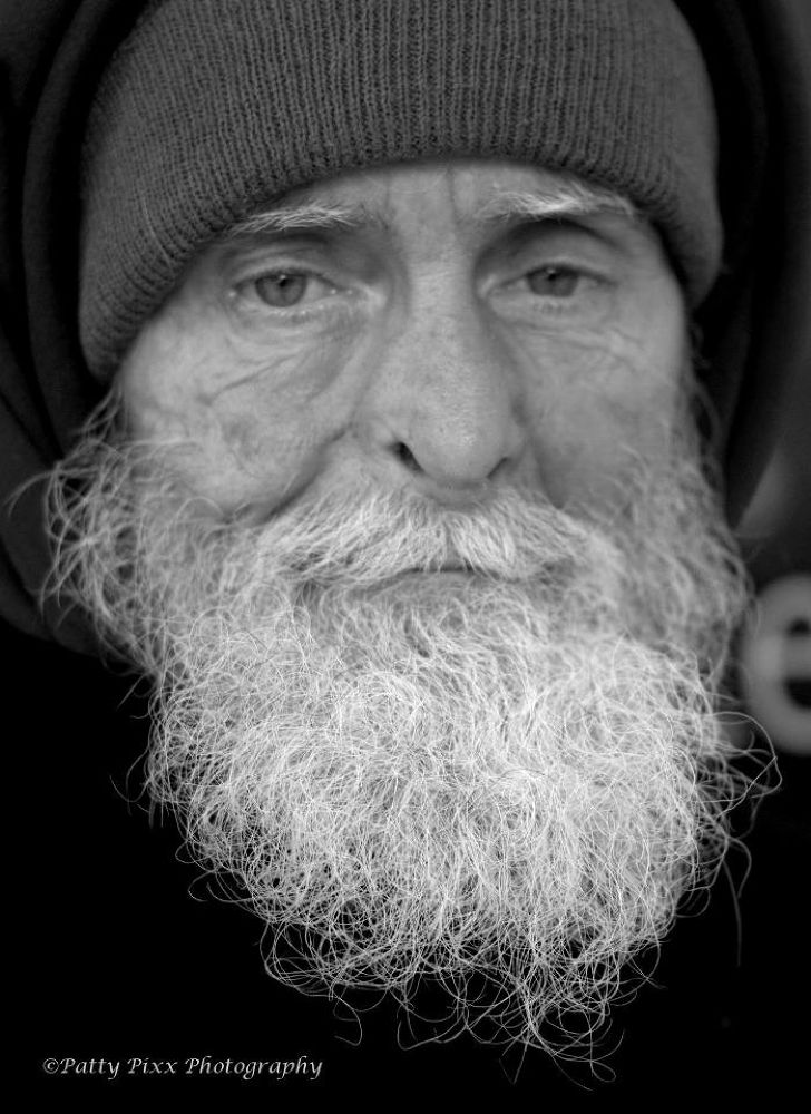 Homeless Man by pattypixxphotography