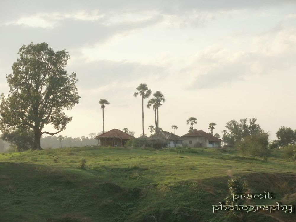 Photo in Landscape #peace #green #huts #landscape #incredible india