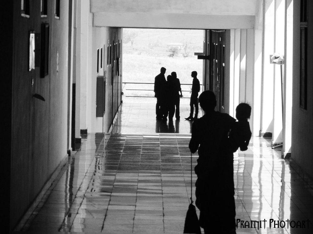 Photo in Black and White #black n white #work