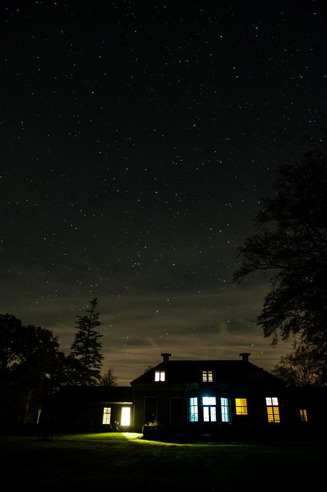 Night over by Chas Krijnen