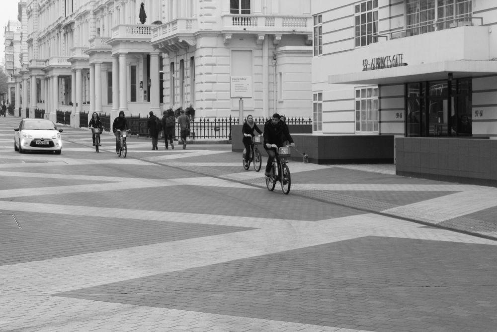 Boris bikes. by Erol Hasan