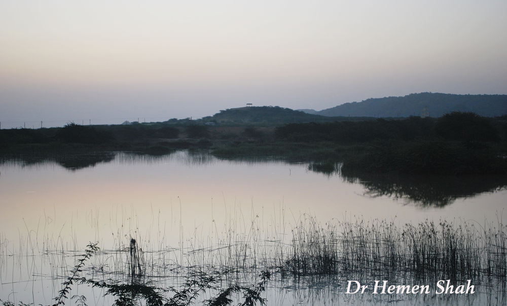 A beautiful early morning in the outskirt of BHUJ. by Hemen