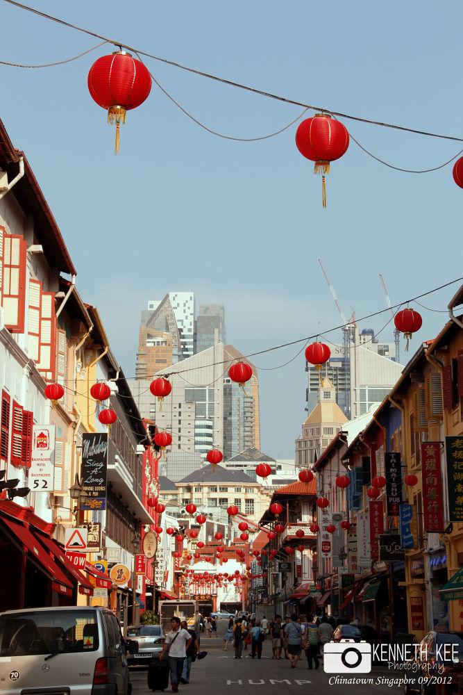 Chinatown Singapore by chengjun