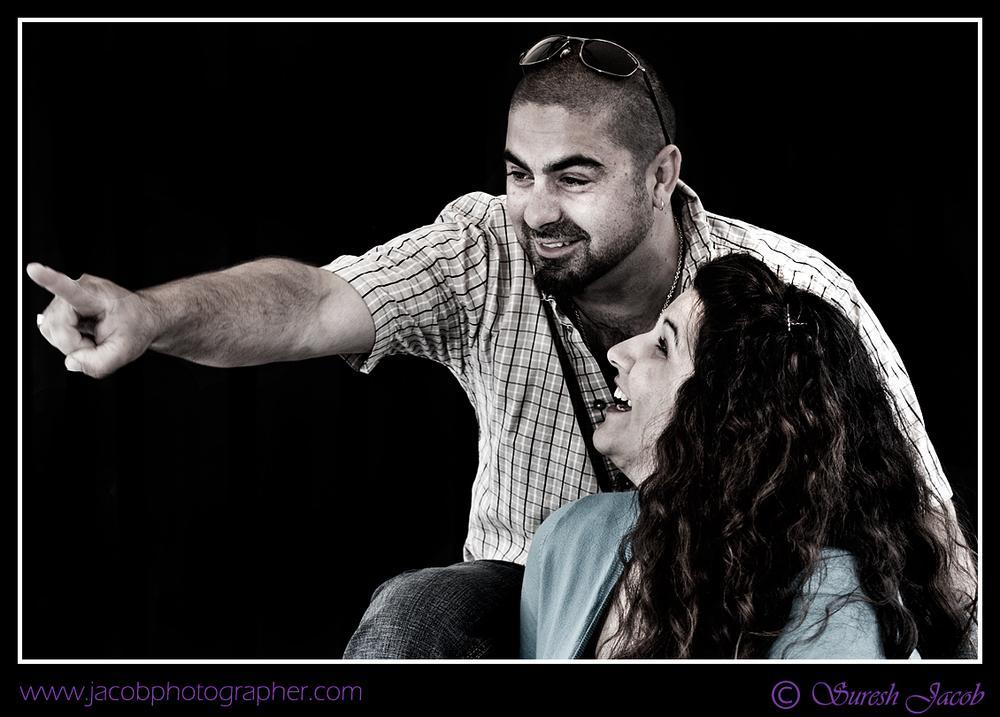 Photo in Wedding #couple #engagement