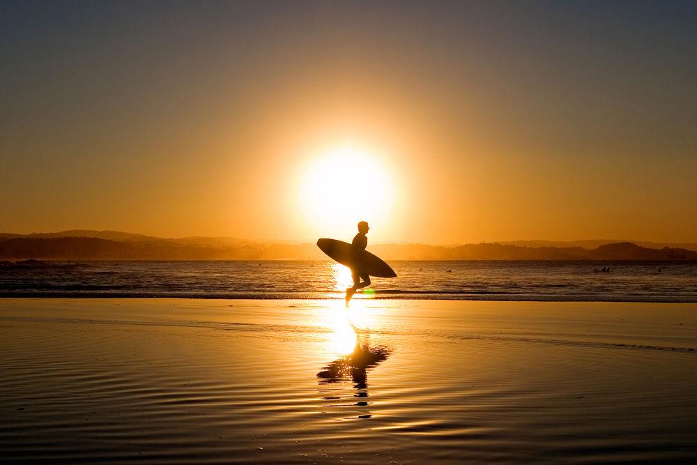 Sunset Runner by Matt Robertson
