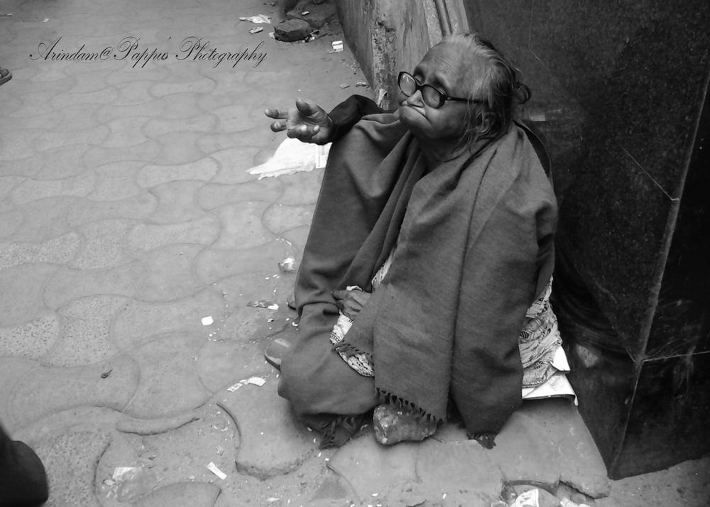 """"""" HELPLESS OLD AGE..................."""" by arindambhattacharya007"""