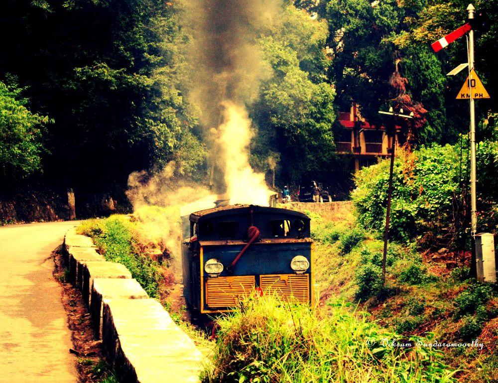 OOty  train by Vikram Sundharamoorthy