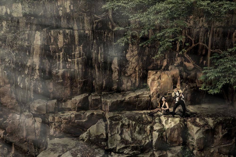 Cliff Wedding by Gary G Films 迎光攝影 婚紗 婚禮