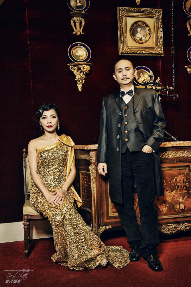 Back to 1915. Dr Sun Yat Sen's Wedding by Gary G Films 迎光攝影 婚紗 婚禮