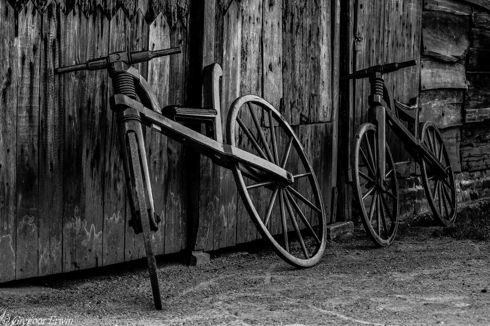 Old cycle...................... by Erwin Gregoor