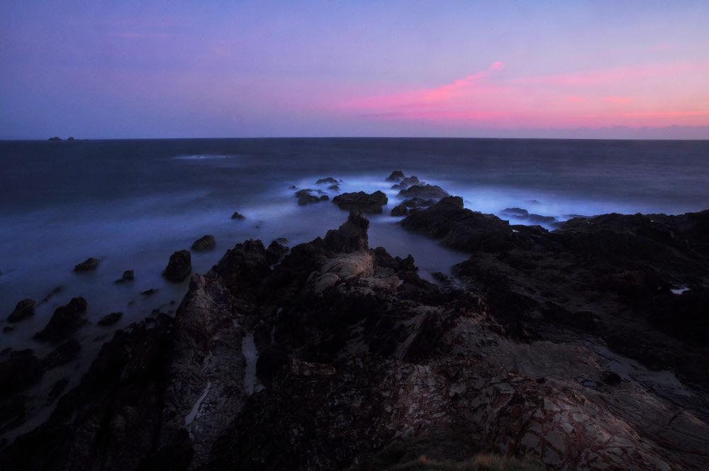 Byron Bay  before daybreak by Katrina Daley
