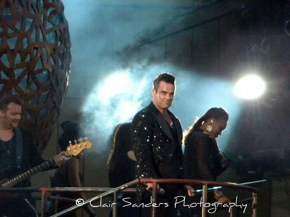 Robbie Williams by Clair Sanders