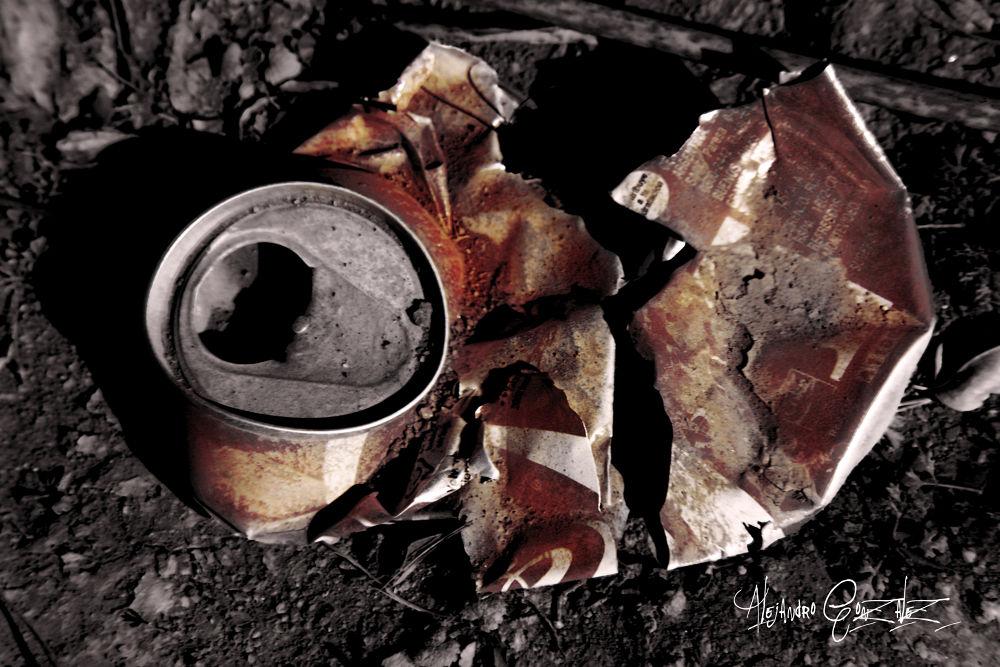 lata de cocacola by AlejandroGonzalez
