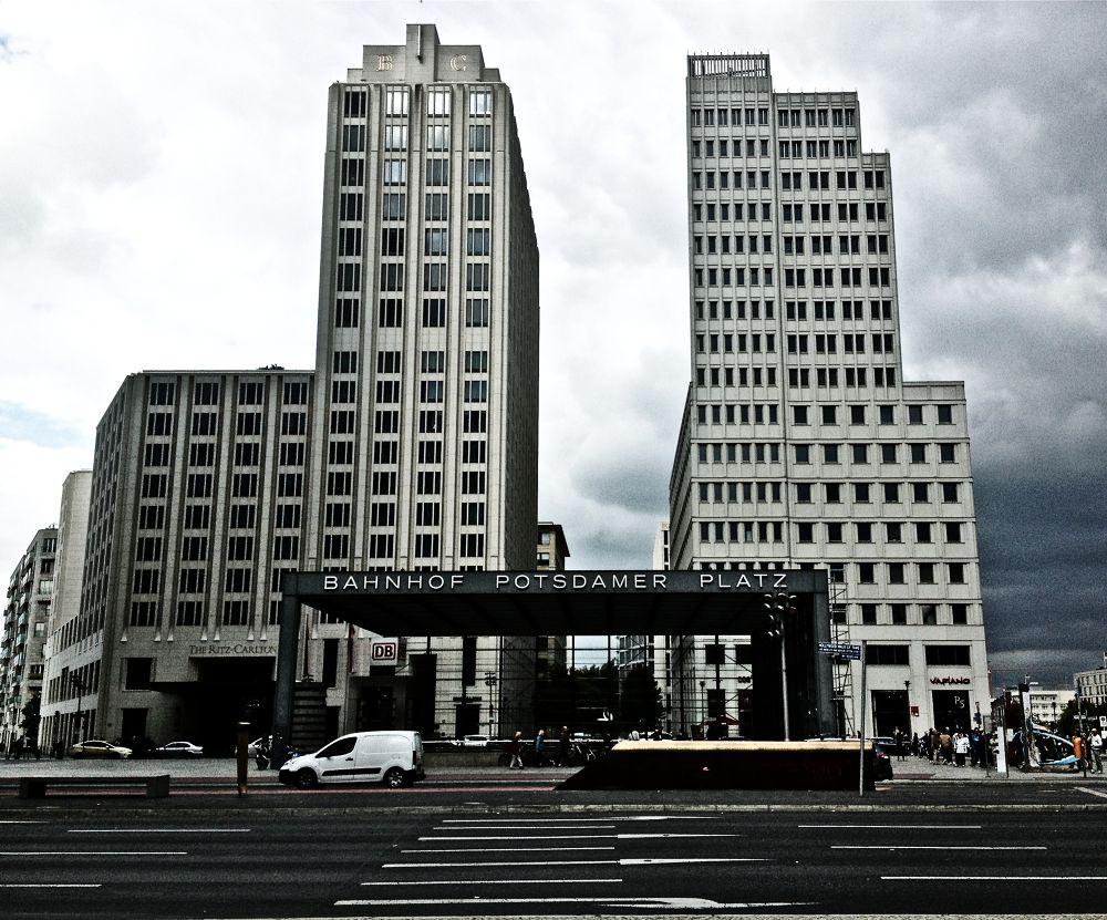 Beisheim Center . Potsdamer Platz Berlin by alirezarezvani