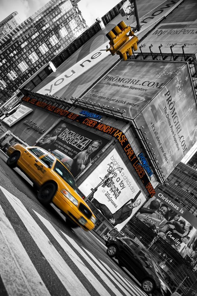 Photo in Cityscape #taxi #new york
