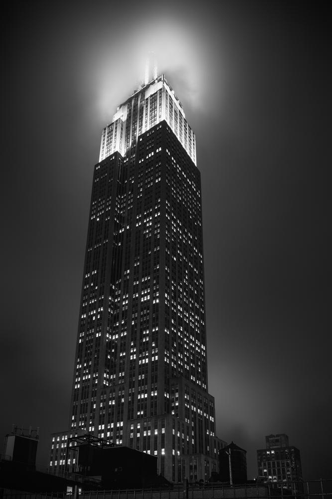 Photo in Black and White #new york #empire state